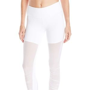 New in package white mesh goddess pants ALO Small